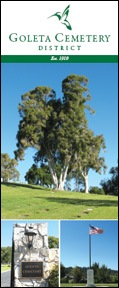 Goleta Cemetery District Brochure